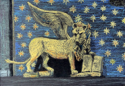 Lion of St. Mark by Carol